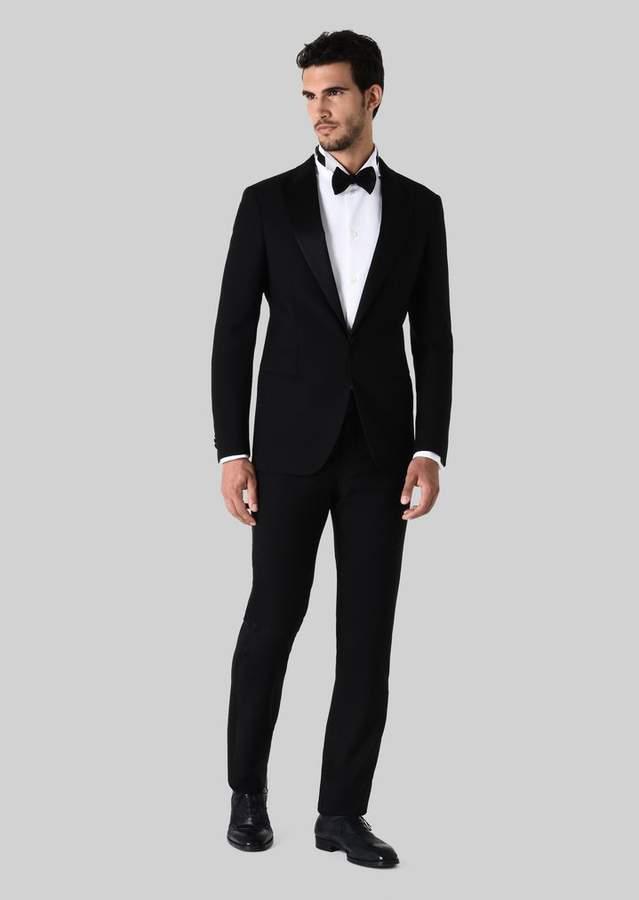 Giorgio Armani Soho Wool Tuxedo