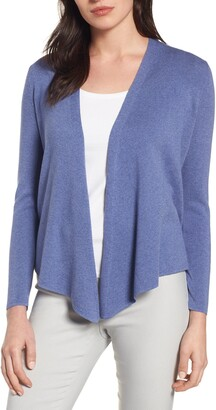 Nic+Zoe 4-Way Convertible Three-Quarter Sleeve Cardigan