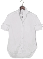 Frank And Eileen Womens Eileen Light Poplin Solid White Shirt