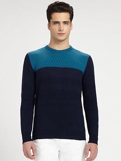 Salvatore Ferragamo Textured Sweater