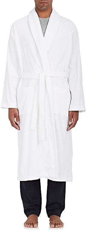 Derek Rose Men's Triton Cotton French Terry Velour Robe