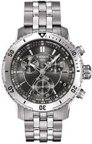 Tissot Men's T067.417.11.051.00 Silver Stainless-Steel Quartz Watch with Dial