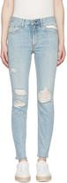 Rag & Bone Blue Marilyn Skinny Jeans