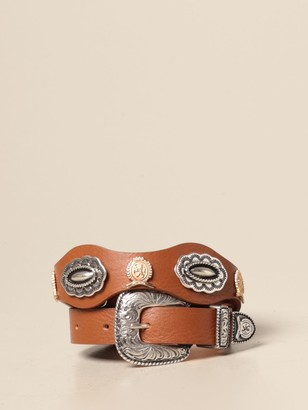 Tommy Hilfiger Belt Leather Belt With Metal Buckle