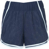 Lndr perforated sport shorts