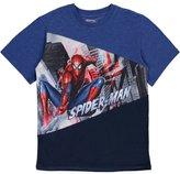 "Spiderman Little Boys' ""Angled Performance"" T-Shirt"