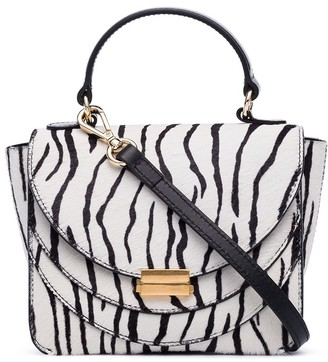 Wandler mini Luna zebra print bag