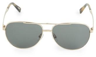 Ermenegildo Zegna 60MM Aviator Sunglasses