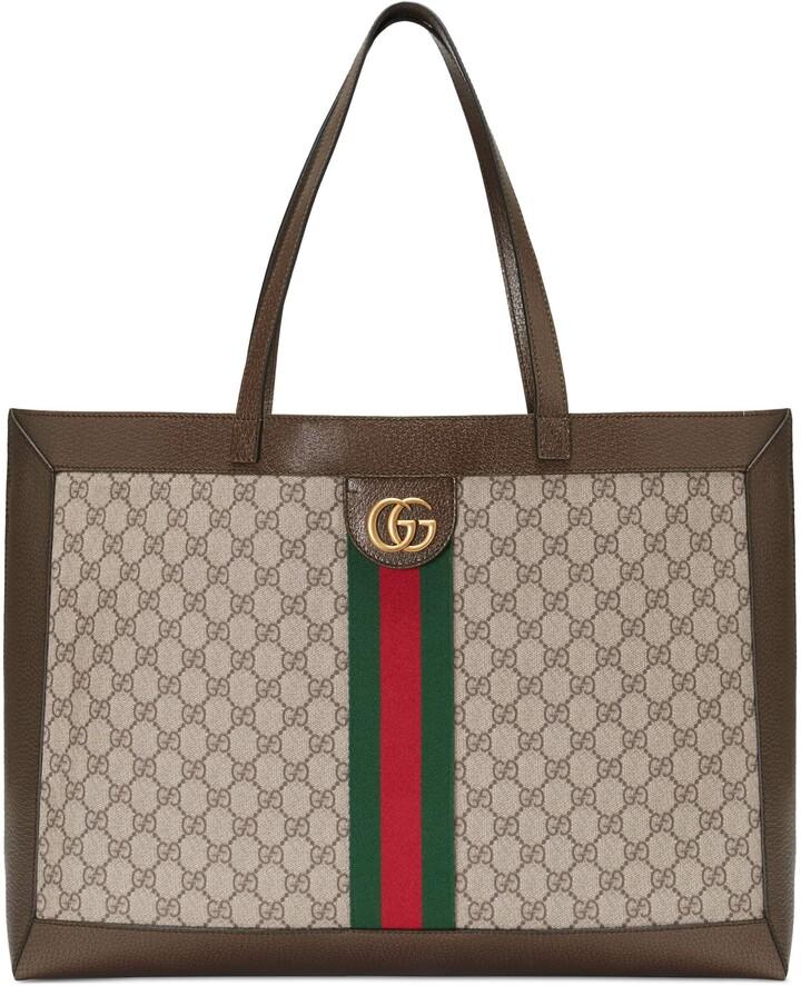 Gucci Ophidia soft GG Supreme medium tote