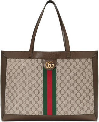 Gucci Ophidia soft GG Supreme medium tote