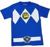 Power Rangers Mighty Morphin' Blue Ranger Men's Costume T-Shirt