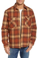 Schott NYC Men's Plaid Shirt Jacket