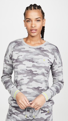 PJ Salvage Neon Pop Camo PJ Top