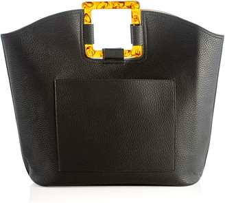 Shiraleah Astrid Faux Leather Top Handle Tote