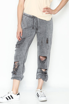 Vintage Havana Destroyed Sweatpant