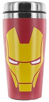 Marvel Iron Man Travel Mug, Stainless Steel, Multi-Coloured