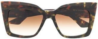 Dita Eyewear Oversized Square Frame Sunglasses