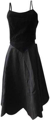 Comme des Garcons X H&M X H&m Black Wool Dress for Women
