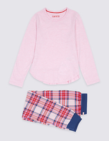 Marks and Spencer Cotton Rich Pyjamas (3-16 Years)