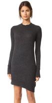 R 13 Distressed Sweater Dress