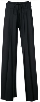 Vera Wang pleated front tailored trousers