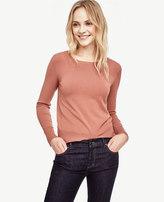 Ann Taylor Button Cuff Sweater