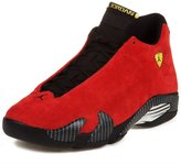 "Nike Mens Air Jordan 14 Retro ""Ferarri"" Suede Athletic Sneakers Size 10.5"