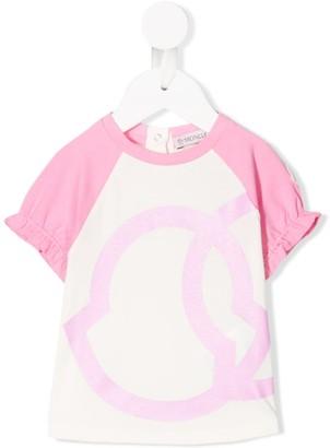 Moncler Enfant raglan-sleeves logo T-shirt