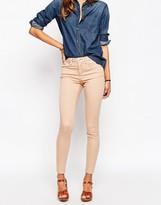 Asos 'SCULPT ME' Premium Jean In Washed Pink