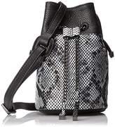 Halston Mini Bucket Handbag