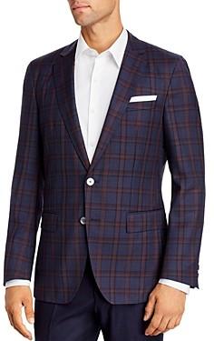 BOSS Hartlay Plaid Slim Fit Sport Coat