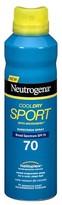 Neutrogena CoolDry Sport Sunscreen Spray Broad Spectrum - SPF 70 - 5.5oz