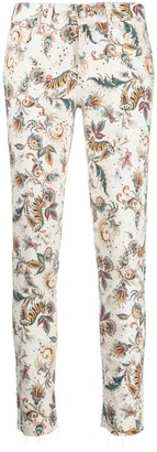 Liu Jo Summer Paisley skinny jeans