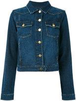 Frame classic denim jacket - women - Cotton/Spandex/Elastane - XS
