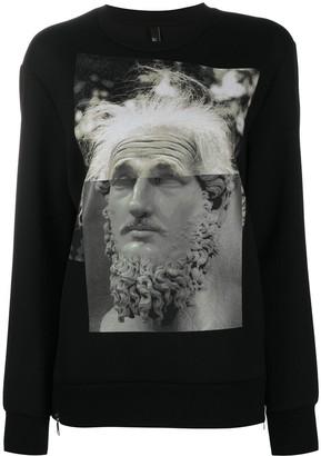 Neil Barrett Maximvs Einstein sweatshirt