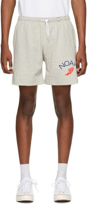 Noah NYC Grey Jersey Shorts