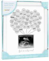 X Pearhead Baby Shower Guest Frame