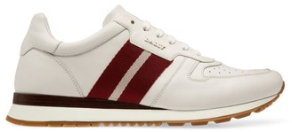Bally Astel Striped Leather Sneakers