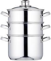 Kitchen Craft 3-Tier 18 Cm Steamer - Stainless Steel