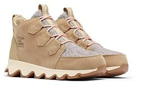 Sorel Women's Kinetic Caribou Lace Up Sneakers
