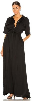 L'Academie Evan Maxi Dress