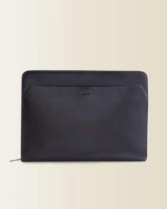 Jigsaw Luxury Leather Laptop Case