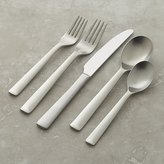 Crate & Barrel Foster Satin 5-Piece Flatware Place Setting