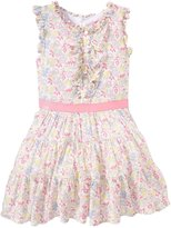 E-Land Kids Phoebe Dress (Toddler/Kid) - Pink-6x