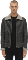 Leather Jacket W/ Shearling Lining