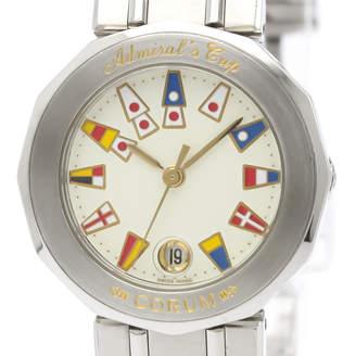 Corum Ivory Stainless Steel Admirals Cup 39.610.20 Women's Wristwatch 26MM