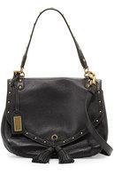 Badgley Mischka Estelle Leather Tassel Shoulder Bag