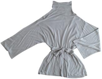 Armani Jeans Silver Cashmere Knitwear for Women