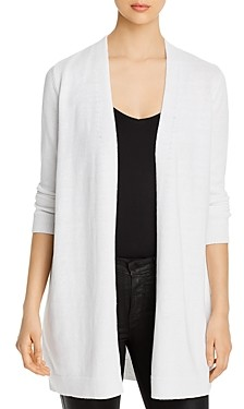 Eileen Fisher Open-Front Long Cardigan
