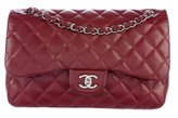 Chanel Quilted Caviar Jumbo Classic Double Flap Bag